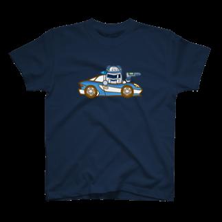 コメビツくんのジャンバラヤくんの高速パトカー T-shirts