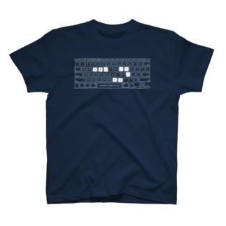 キーボードミルノルテ T-shirts