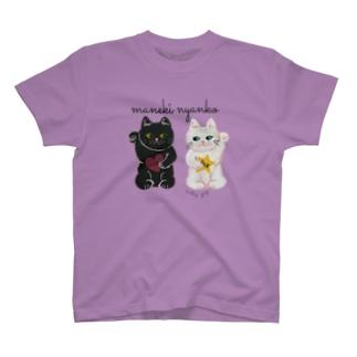 まねきにゃんこ T-shirts
