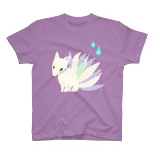 おばけTシャツ<でっかい九尾> T-shirts