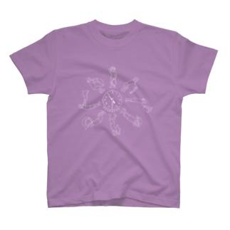熱波ーカー(white) T-shirts