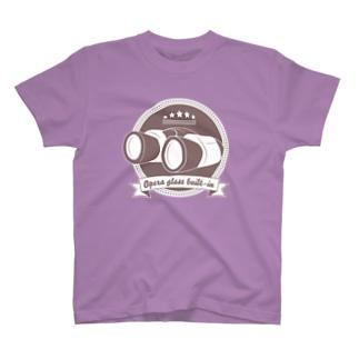 オペラグラス内蔵ボディ T-shirts