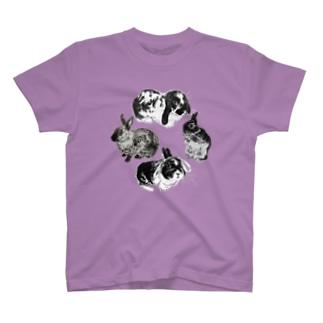 うさぎ環 T-shirts