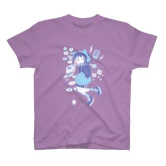 UNDER BLUE 購買部のインターネット社会 T-shirts