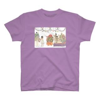 ようこそ土蜘蛛のいえへ T-shirts