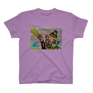 光線男 T-shirts