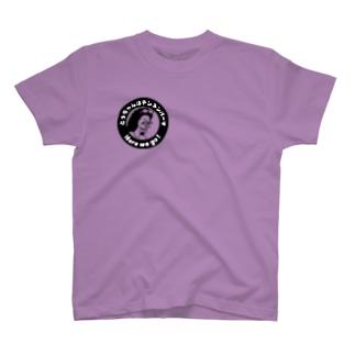 テンネンパーマNEWアイコン black T-shirts