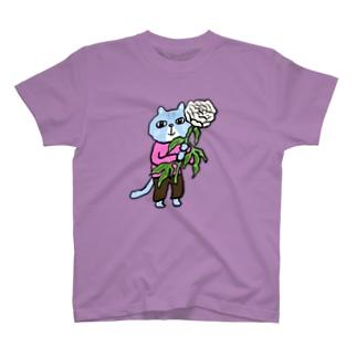 田中六大の芍薬 T-shirts