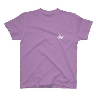 Ms Amaryllis のMs Amaryllis curvy logo one point  T-shirts