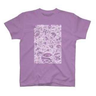 #ひま暇お絵描き③ T-shirts