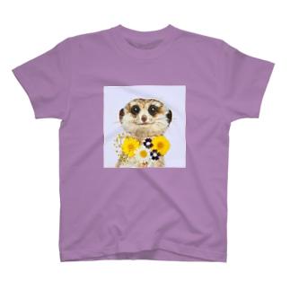 ミーアキャット T-shirts