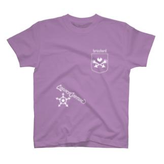 ベクトルPOCKET/ハート T-shirts