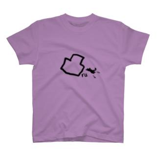 凸る猫 T-shirts