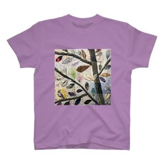 葉っぱ T-shirts