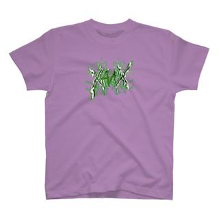 【X Thunder LŌGO X】 GREENVer. T-shirts