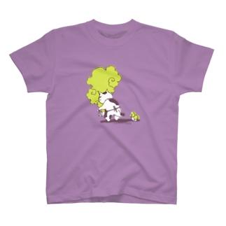うしろきのこ猫 T-shirts