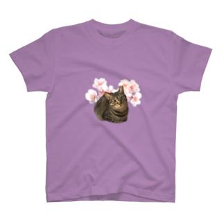 くーちゃんと花 T-shirts