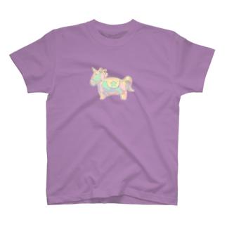 からふるなユニコーン T-shirts