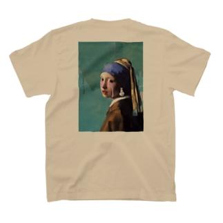 耳飾りの少女 T-shirts