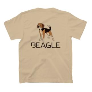 BEAGLEロゴ&イラスト T-shirts