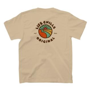 lifechills logo tシャツ T-shirts