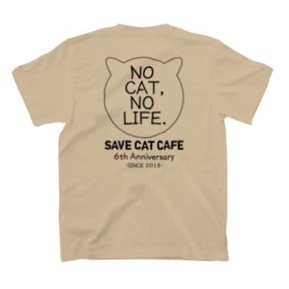 6周年記念アイテム「NC,NL.」 Backprint/BlackLine T-shirts