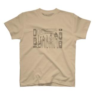 電気工事士の七つ道具 T-shirts