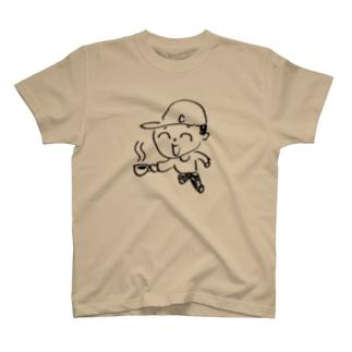 コヒ汲み坊や T-shirts