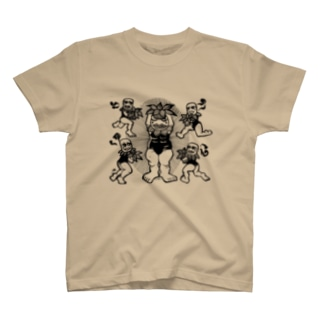 植物生まれの坊ヤたちTシャツ T-shirts