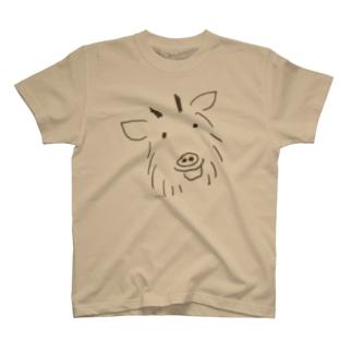 山の仲間、カモシカ T-shirts