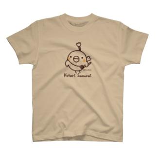 コトリ侍 T-shirts