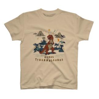 (薄色用)ティラノサウルス T-shirts