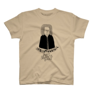 ヨハン・セバスチャン・バッハ T-shirts