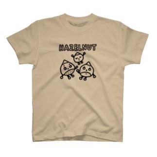 ヘーゼルナッツ親子 T-shirts