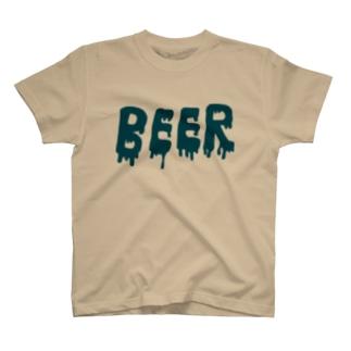 hnjのBEER T-shirts