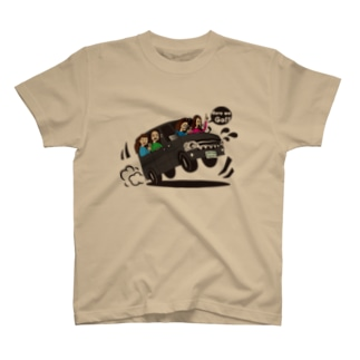 テンネンパーマファミリーVAN T-shirts
