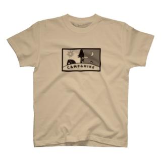 itumodooriのCAMP&HIKE_Ver.2 T-shirts