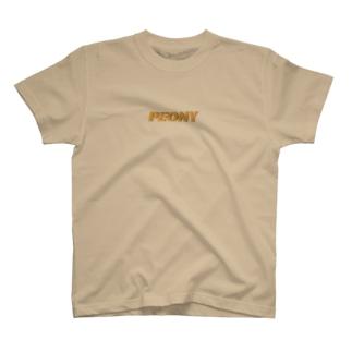 ピオニー T-shirts