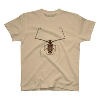 テナガカミキリ T-shirts