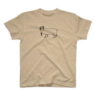 ダックスフント T-shirts