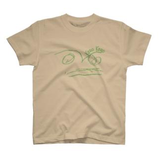 ケロケロ 緑 T-shirts