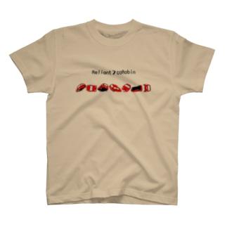 赤 Reliant 7coRobin T-shirts