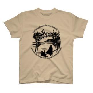 熱海海岸モノクロ(Kanichi&Omiya) T-shirts