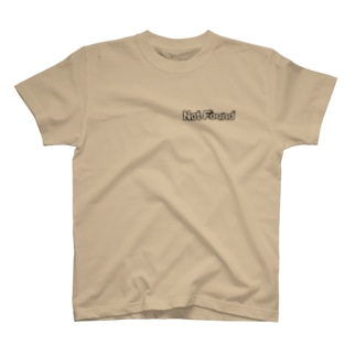 NotFoundロゴ別バージョン T-shirts