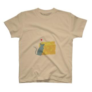 チーズ大好き T-shirts