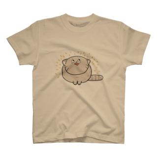 うれしいマヌルネコ T-shirts