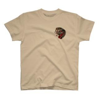 snake art T-shirts