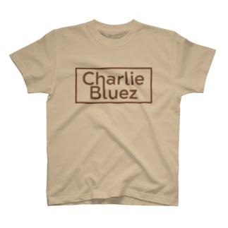 CharlieBluezロゴデザイン T-shirts