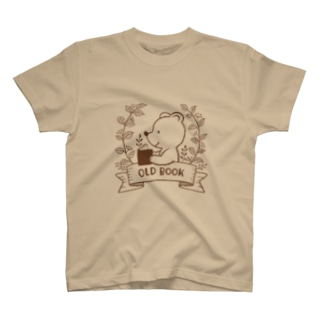 OLD BOOK(ブラウン) T-shirts