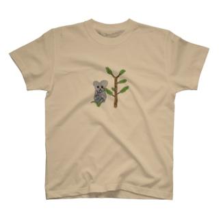 コアラと植物2 T-shirts